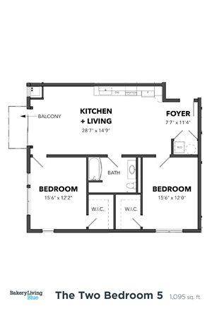 The Two Bedroom 5