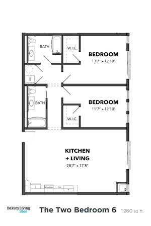 The Two Bedroom 6