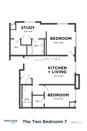 The Two Bedroom 7