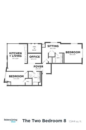 The Two Bedroom 8