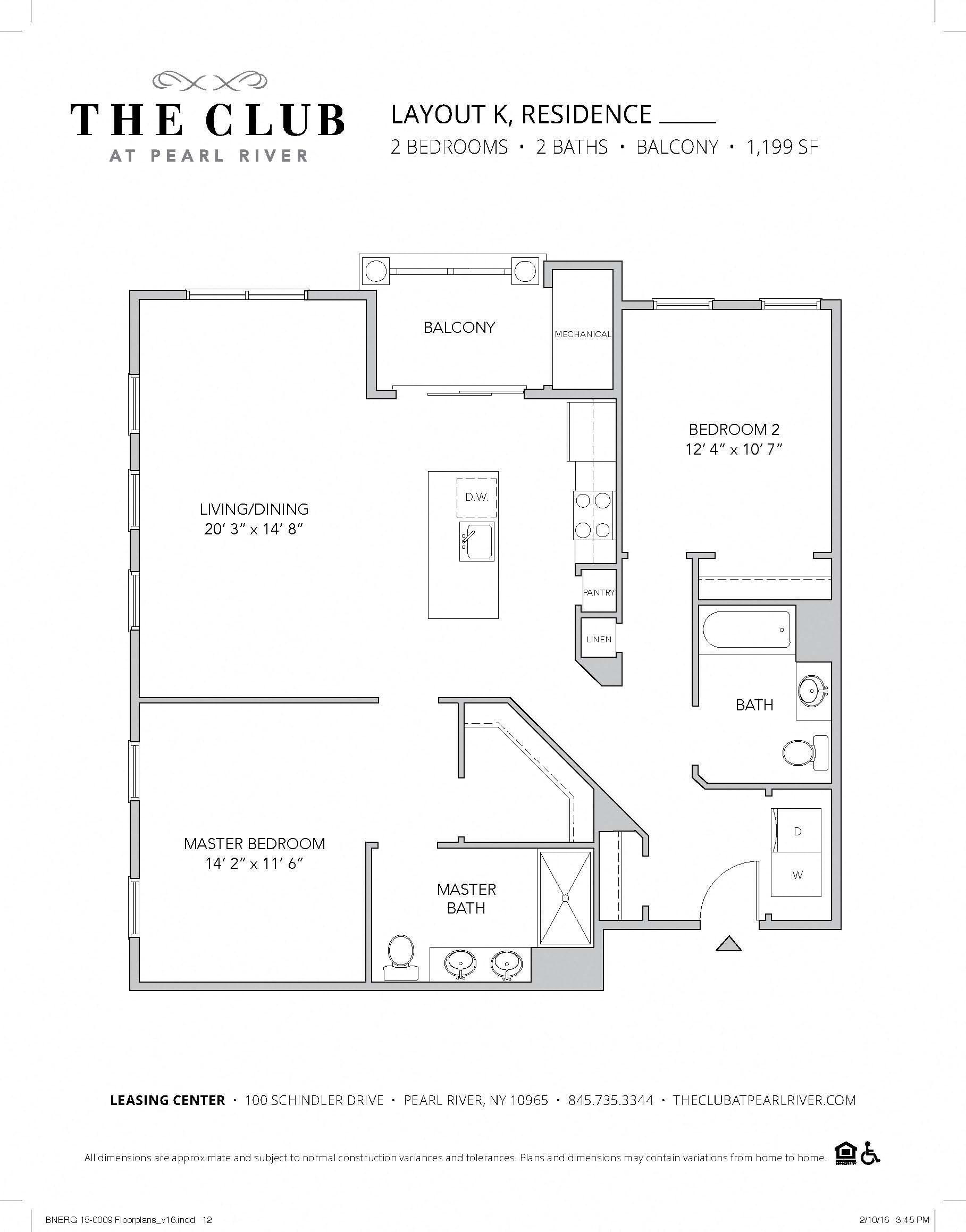Layout K Floor Plan 2