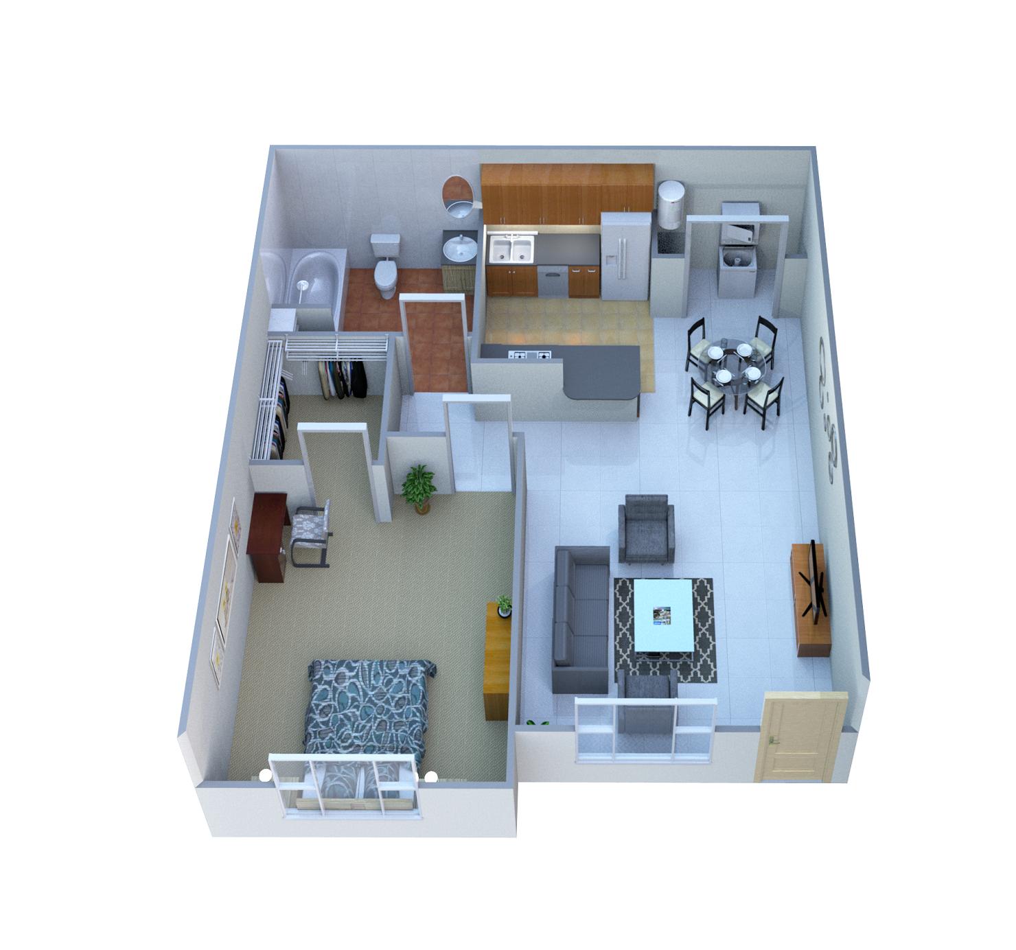 Ventana Floor Plan 1