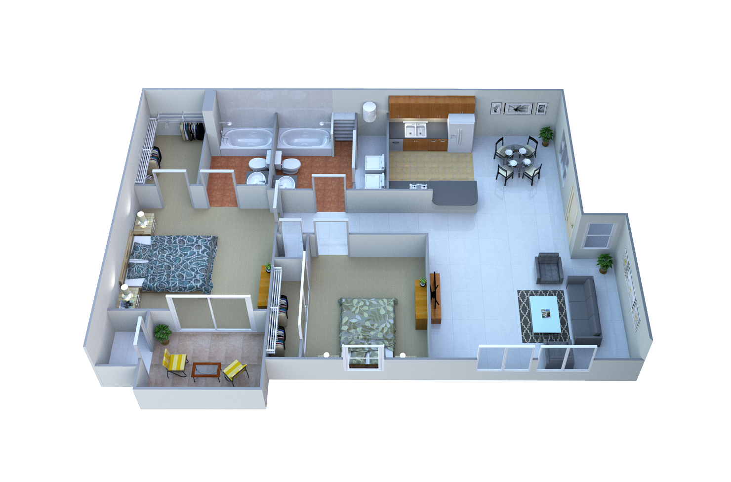 Paloma Floor Plan 2