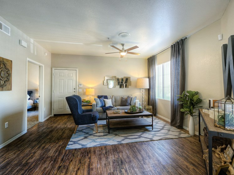 Crystal-Springs-Apartments-Avondale-AZ-One-Bedroom-Living-Space