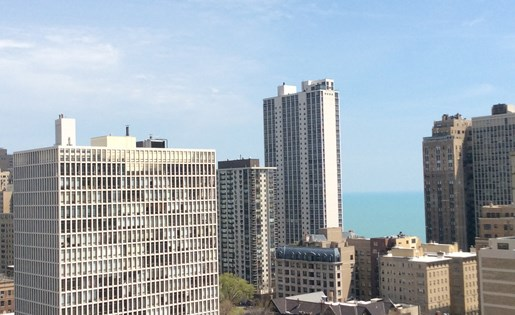 Gorgeous City View at 14 West Elm Apartments, Chicago,Illinois
