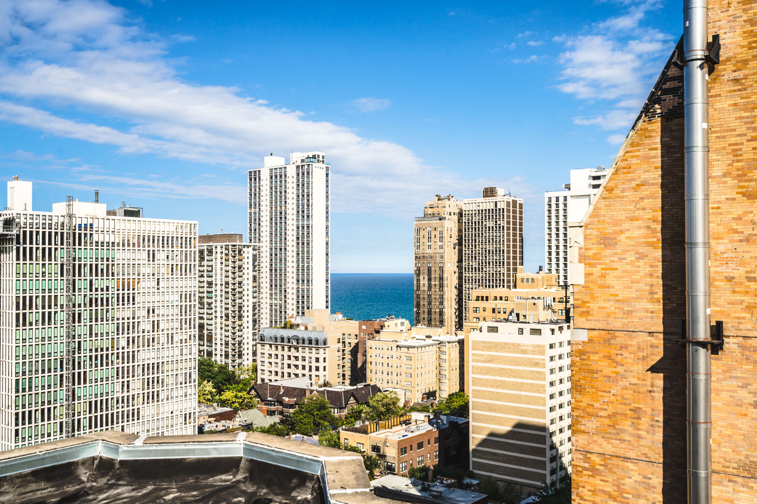Lovely City View at 14 West Elm Apartments, Chicago, 60610