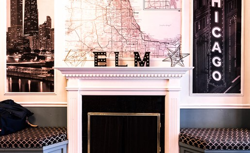 Fab Key Entrance at 14 West Elm Apartments, Chicago, IL 60610