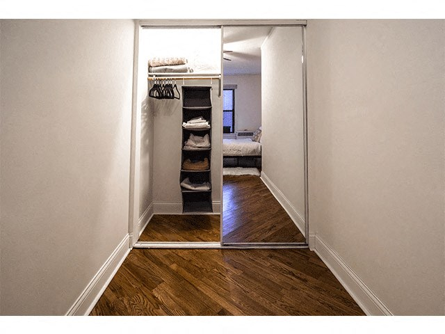 Large Closet Space at 14 West Elm Apartments, Chicago, Illinois