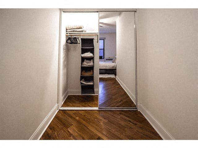 ... Large Closet Space At 14 West Elm Apartments, Chicago, Illinois