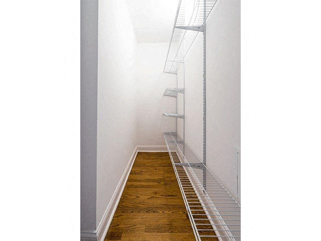 Walk-In Closet at 14 West Elm Apartments, Chicago