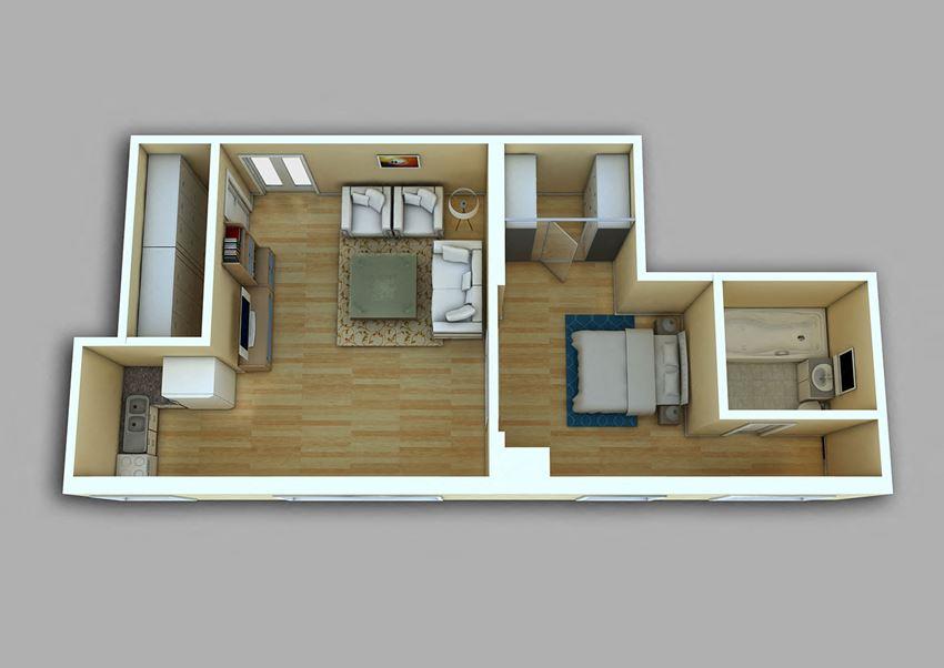 1 Bedroom - Model 23