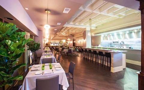 Restaurant - The Blanchard at Park View Apartments, Chicago