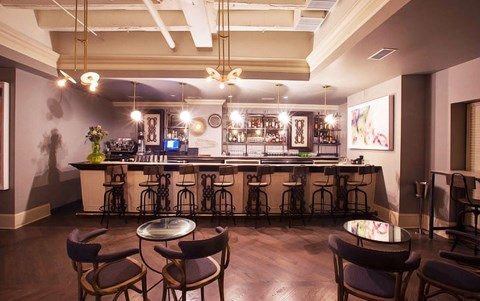 The Blanchard Bar at Park View Apartments, Chicago,Illinois