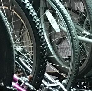 Bike Racks at Park View Apartments, Chicago