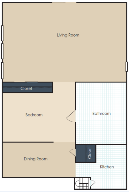 The Blues Floor Plan 1