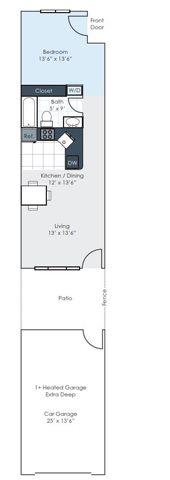 The Drake Floor Plan 1