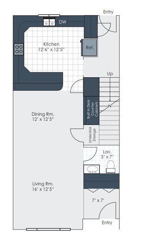 The Getty Floor Plan 2