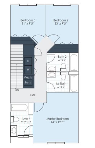The Boone Floor Plan 3