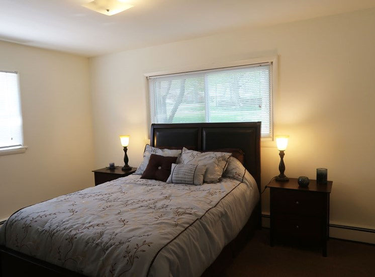 Spacious Bedroom at The Arbors