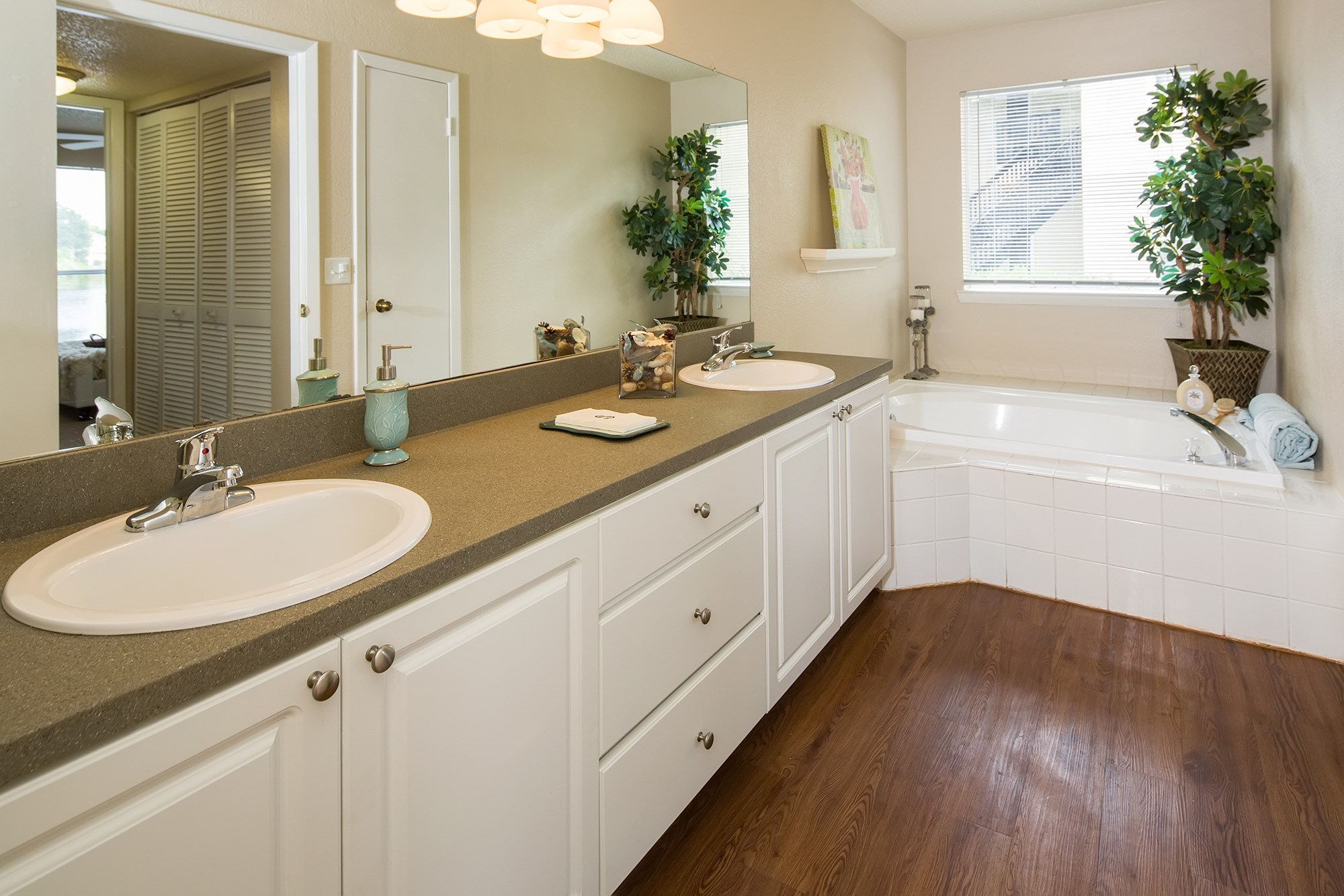 Bathroom at Sawgrass Cove Apartments in Bradenton, FL