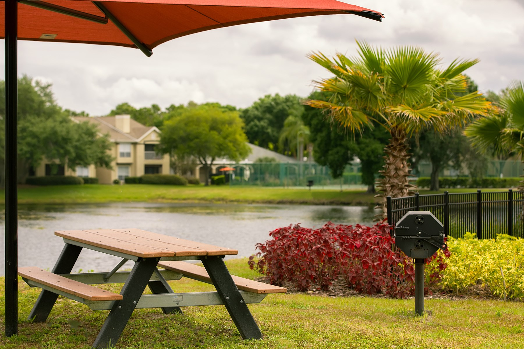 Picnic Table at Sawgrass Cove Apartments in Bradenton, FL