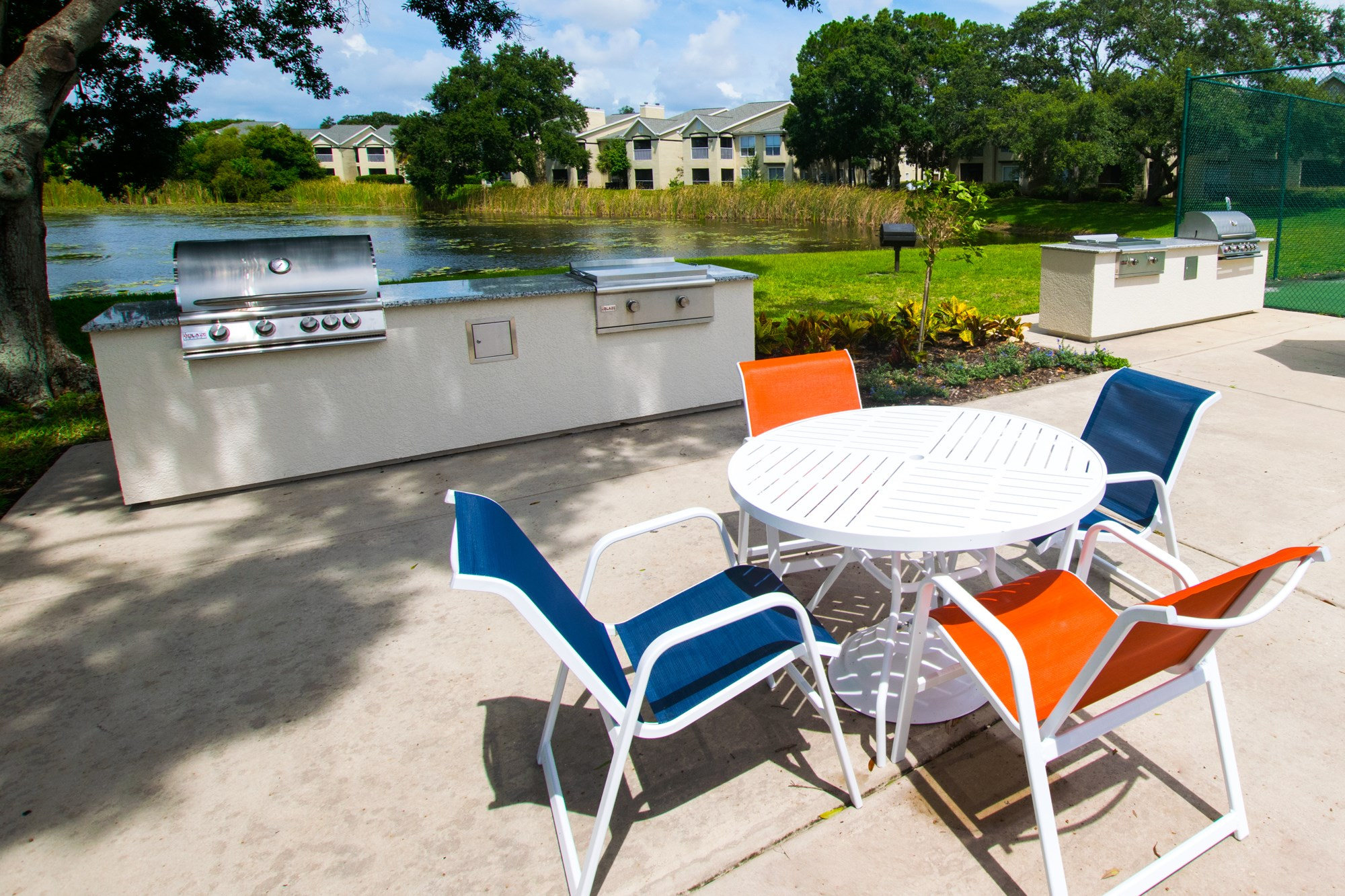 Grilling Station at Sawgrass Cove Apartments in Bradenton, FL