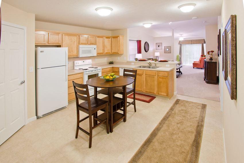 Wooster OH Apartment Rentals Redwood Neighborhoods Eat In Kitchen