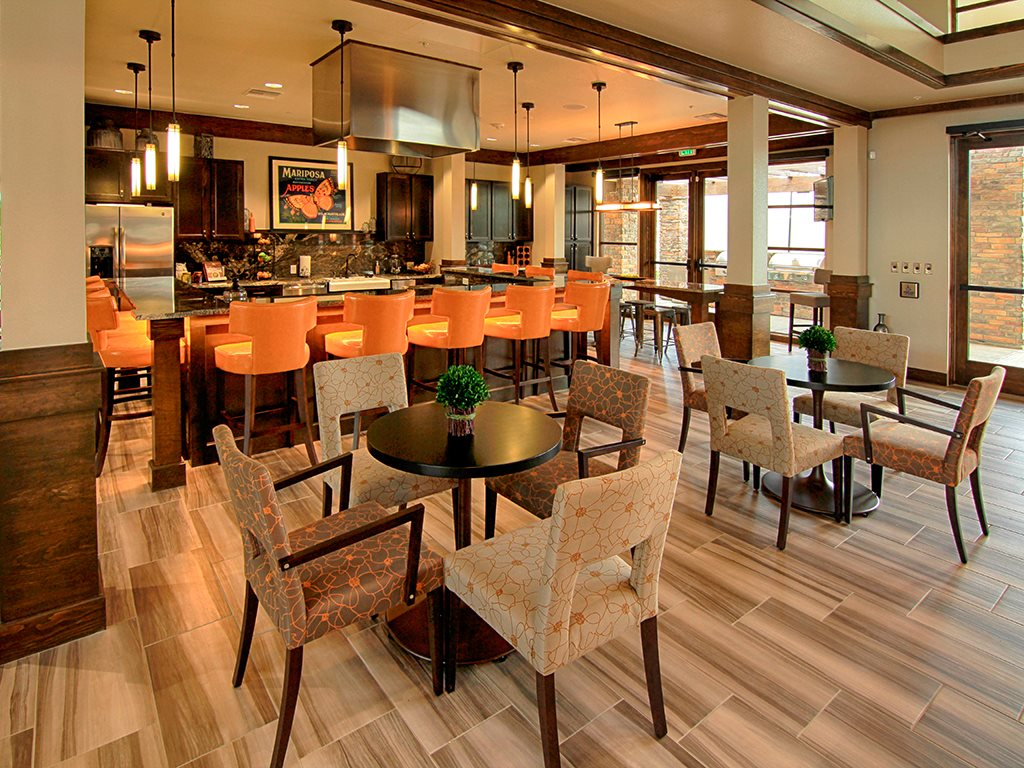 Enjoy our Exclusive Resident Events in Our Welcome Center Gourmet Kitchen at Arbour Commons, Westminster,Colorado