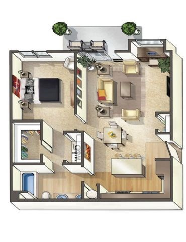 Lodi Floor Plan at Arbour Commons, Westminster