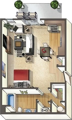 Floor Plan at Arbour Commons, Westminster, CO