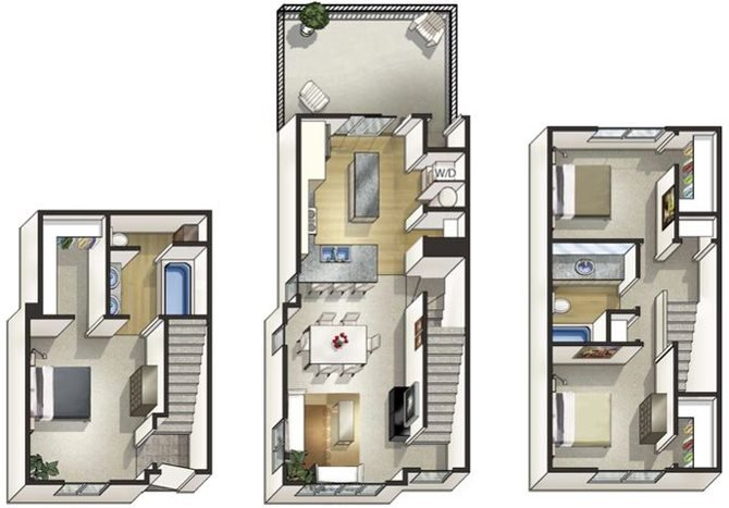 Floor Plan at Arbour Commons, Westminster, 80023