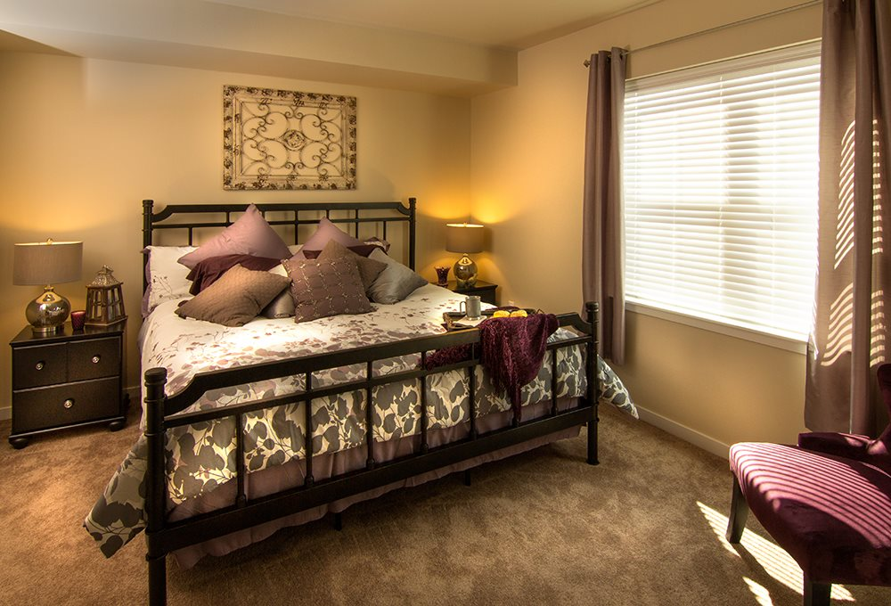 Mariposa Bedroom at Arbour Commons, Westminster, CO