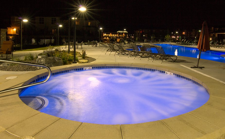 Relax in the Resort-Style Spa - Open Year Round at Arbour Commons, Westminster,Colorado