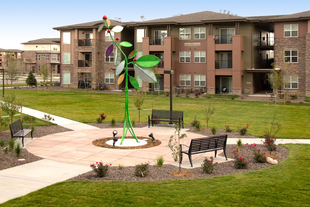 Beautiful Open Areas and Park at Arbour Commons, Westminster, CO