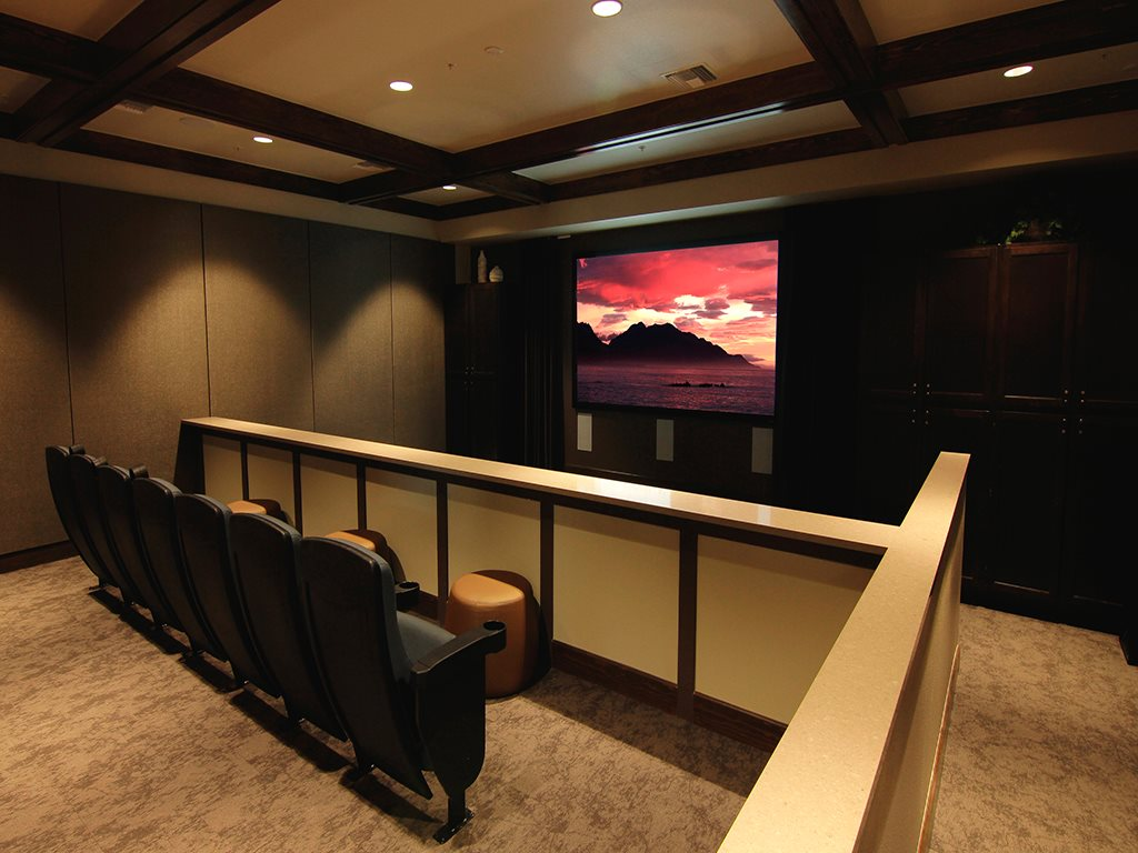 Private Theater to Watch Movies or the Game at Arbour Commons, Westminster, CO 80023