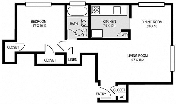 The Bradford Floor Plan 2