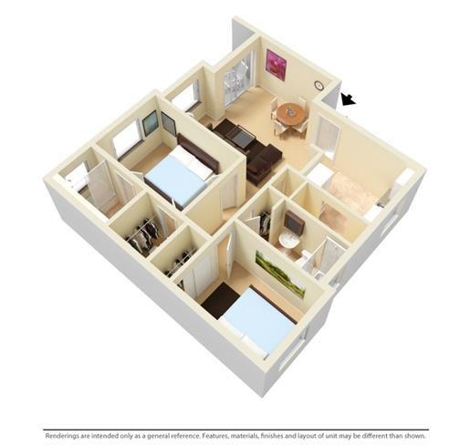 Allapattah Gardens Floor Plan
