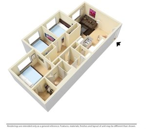 Jacaranda Trail Apartments Floor Plans