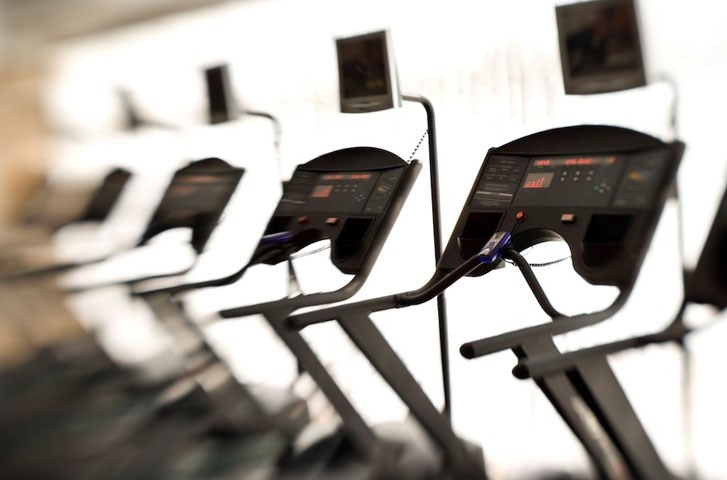 Blurred Photo of Treadmills in a Fitness Center