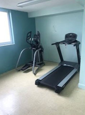 Treadmill and Eliptical in Fitness Center