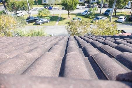 close up of roof shingles outside_Westview Gardens Apartments Miami, Florida