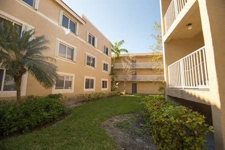 exterior alley between apartment buildings_Westview Gardens Apartments Miami, Florida