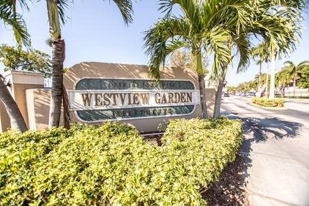 exterior sign at the community entrance_Westview Gardens Apartments Miami, Florida