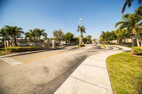street view of the community entrance_Westview Gardens Apartments Miami, Florida