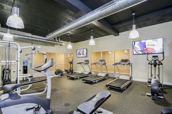 24-Hour Fitness Center at Harbor Hill Apartments, Baltimore, MD,21230