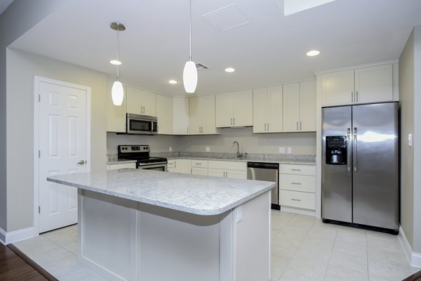 Spacious Kitchen with Pantry Cabinet at Harbor Hill Apartments, Baltimore, MD,21230