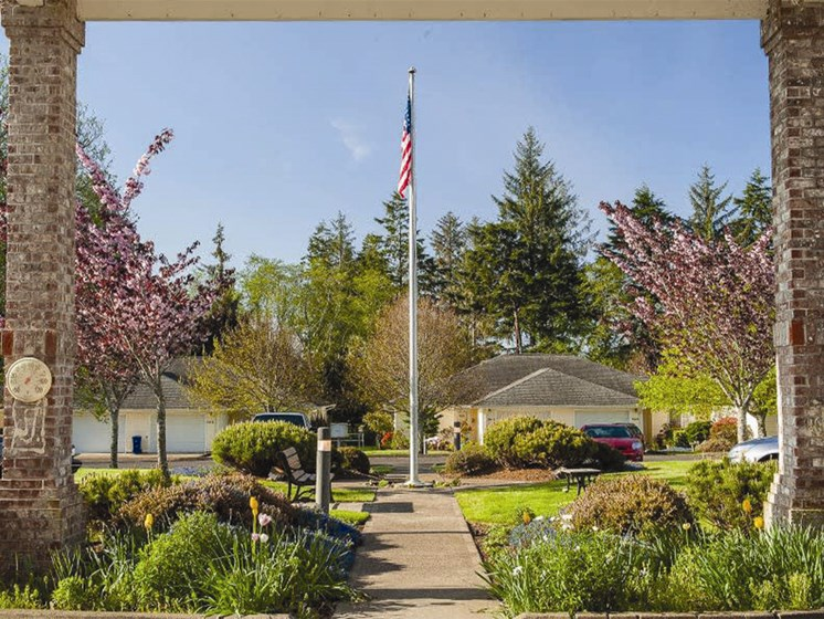 Exquisite Exterior at Lakeview Senior Living, Lincoln City, OR, 97367