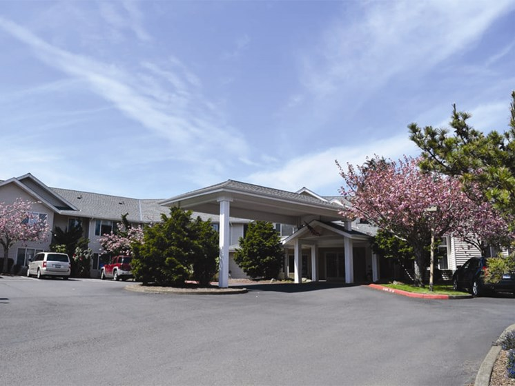 Reserved Resident Parking at Oceanview Senior Living, Newport, 97365