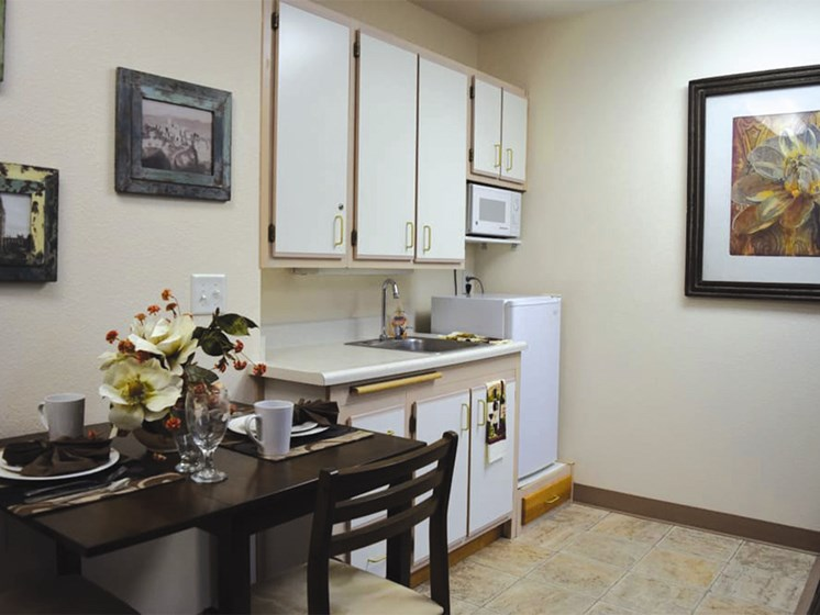 Custom Cabinets at Oceanview Senior Living, Newport