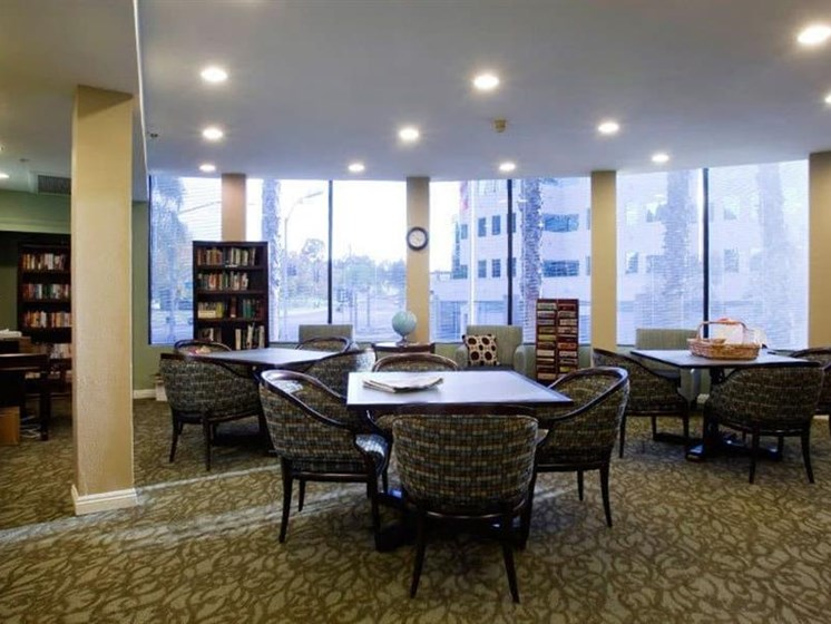 Reading Room With Ample Of Sitting Area at Westmont Town Court, Escondido, 92025